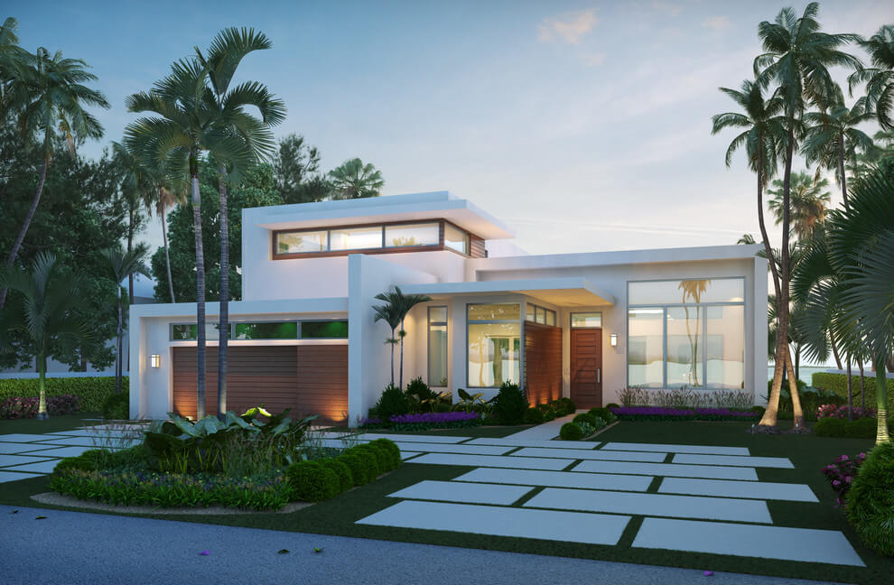 Modern House By Ark Residential Corp House Plans