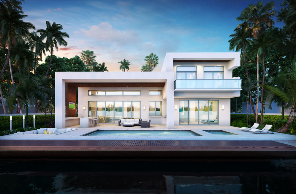 Modern House by Ark Residential Corp - House plans