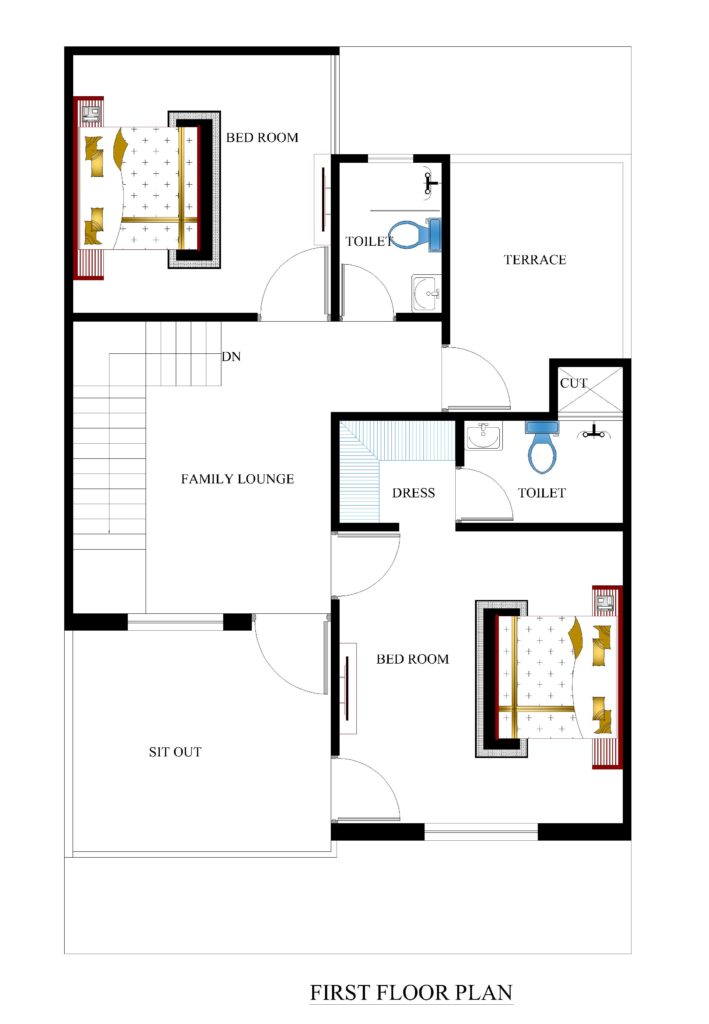 25x40 House Plans For Your Dream House House Plans