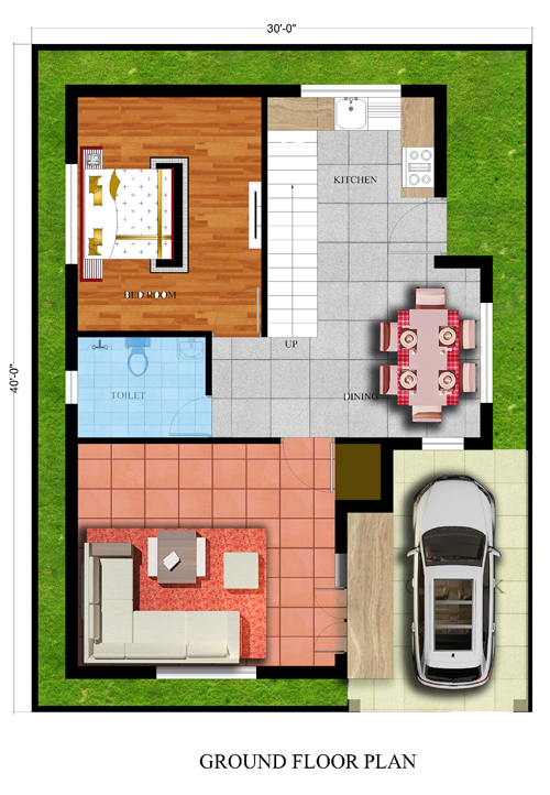 30x40 House Plans For Your Dream House