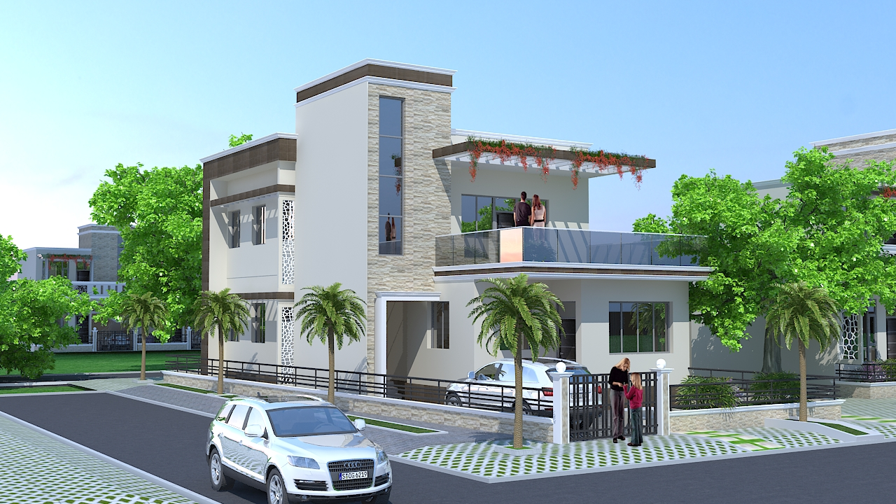 100 luxury duplex house plans duplex house elevation 1986 sq ft home appliance 100 30x40 - Luxury duplex house plans ...