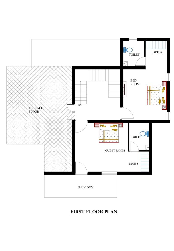 35x40 house plans for your dream house house plans for Floor plans first