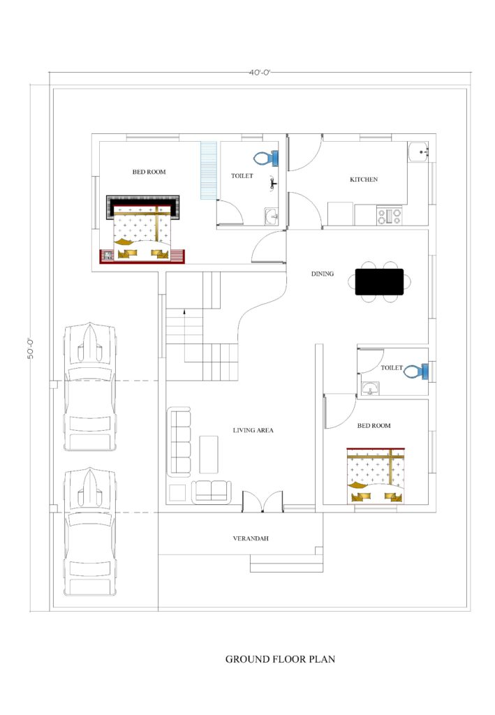 40x50 house plans for your dream house house plans for 40x50 house plans