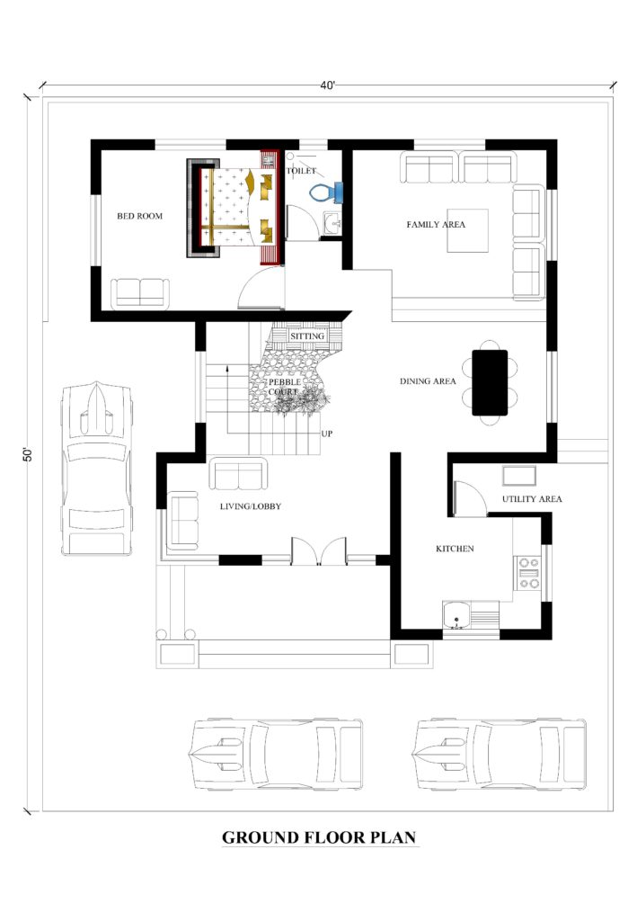 40x50 house plans for your dream house - house plans