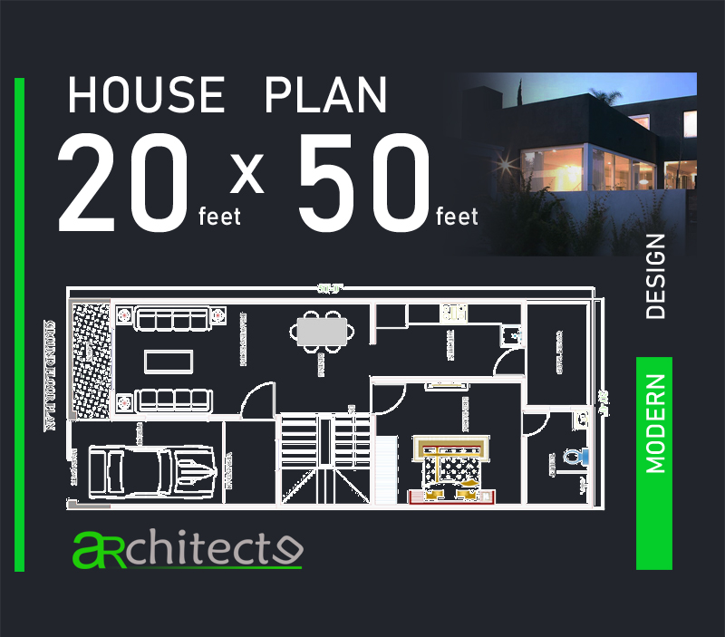 20x50 House Plans For Your Dream House House Plans