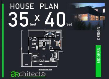 35x40 house plan