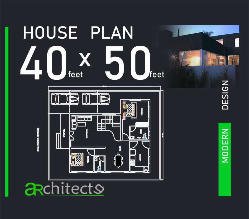 Home Design Plans Video: 40x50 House Plans For Your Dream House