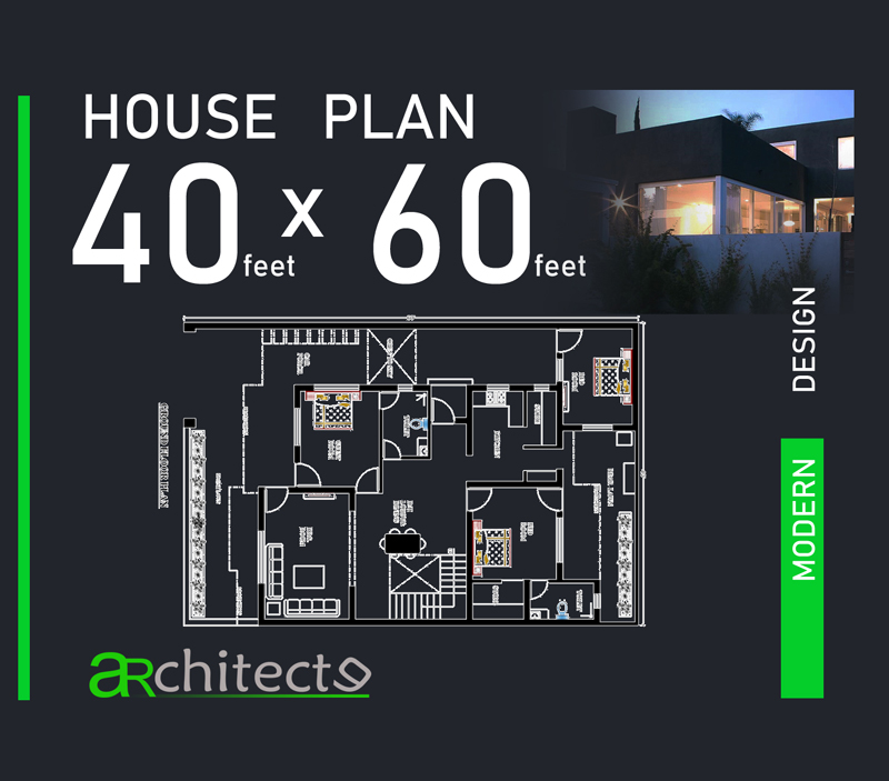 40x60 house plans for your dream house - House plans