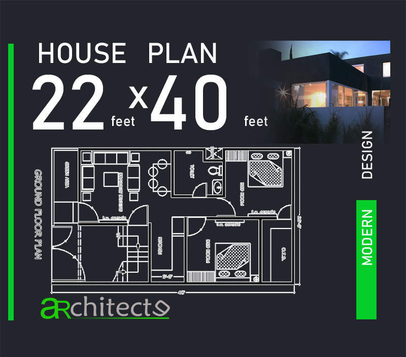 22.5X40 House Plans For Your Dream Home