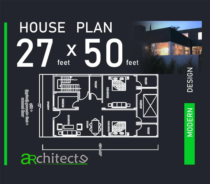 27x50 House Plans