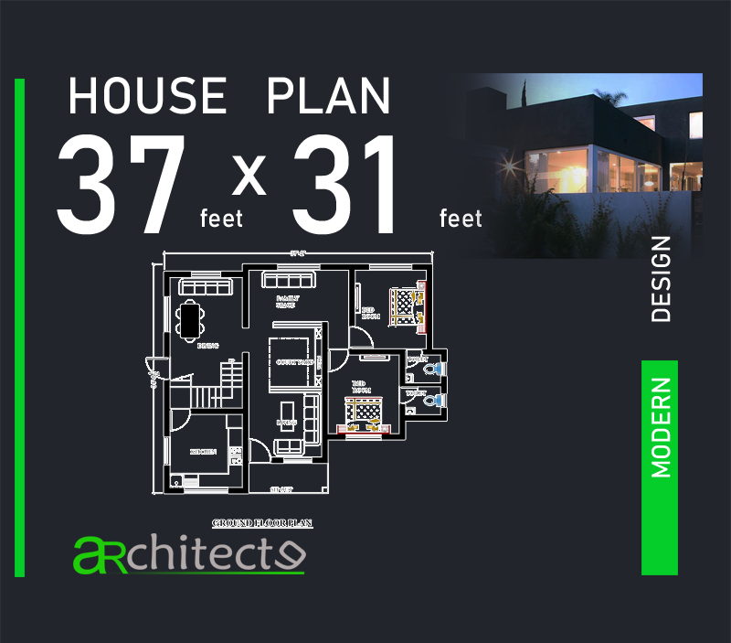 37X31 House Plans For Your Dream House